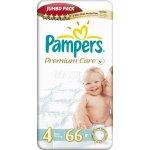 Pampers Premium Care Jumbo pack 4 Maxi 66 ks