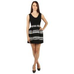 Dámské šaty TopMode krátké společenské šaty černá 96dbdf28dd