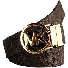 Michael Kors Pásek logo brown 551342