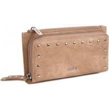 Doca Dámská peněženka 65003 béžová