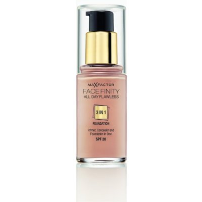 Max Factor Facefinity 3v1 All Day Flawless make-up 50 Natural 30 ml