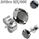 Steel Edge Klipsové náušnice chirurgická ocel 1011 Modrá alternativy ... 6cfd56127de