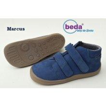 Beda Barefoot MARCUS s membránou BF-0001 W M broušená kůže 5315162886