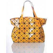 Big Cubic lesklá oranžová