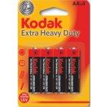 Baterie Kodak HEAVY DUTY AA 4ks