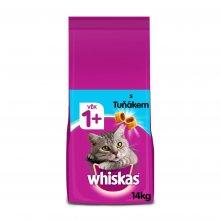Whiskas granule s tuňákem pro dospělé kočky 14kg