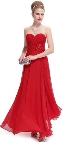 dlouhé šaty na ples večerní šaty do společnosti na svatbu korzetové červené  alternativy - Heureka.cz f26a3d0123