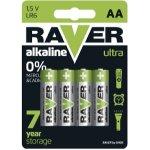 Baterie RAVER LITHIUM AA 4ks