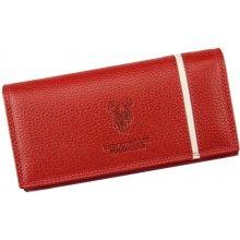 Harvey Miller Polo Club 5313 PL09 červená dámská kožená peněženka