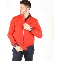 Tommy Hilfiger pánský červený bomber pánská bunda a kabát - Nejlepší ... a9c762ad267