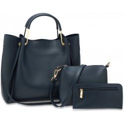 2c53b169e set 3v1: kabelka i na rameno malá crossbody a peněženka Modrý od 749 ...