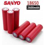 Sanyo typ 18650 Baterie s PCB 2600mAh,1ks