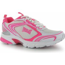 Everlast Jog Ladies Trainers White/Cerise