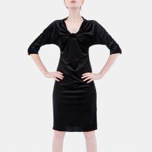 a891844f4ba7 Dámské šaty Luxusní dámské černé šaty - Heureka.cz
