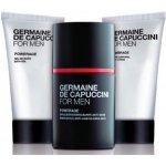 Germaine de Capuccini FOR MEN Powerage pleťová emulze proti známkám stárnutí 50 ml + sprchový gel 50 ml + tělové mléko 50 ml dárková sada