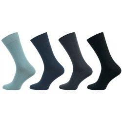 Novia pánské ponožky 24N Klasik 100% bavlna šedá 6e1d0287cf