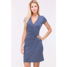 Revdelle letní puntíkaté šaty Camilles modrá 65b8e6d227