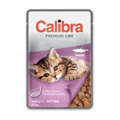 Calibra Cat kapsa Premium Kitten Salmon 100g