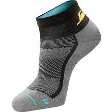 Snickers Workwear ponožky LiteWork nízké Šedá f8caeab9cc