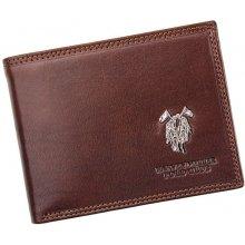 Harvey Miller 3820 292E pánská kožená peněženka hnědá