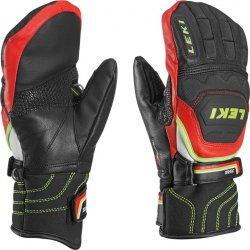 Dětské rukavice Leki Worldcup Race Flex S Junior Mitten black-red-white- yellow e596c11fca