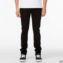 Vans Jeans V76 Skinny Overdye černé