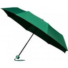 Skládací deštník FASHION tm.zelený