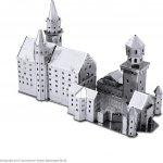 METAL EARTH 3D kovové puzzle Zámek Neuschwanstein