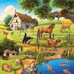 Ravensburger Domácí zvířata 3x49 dílků