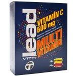 Lead-nutrition VitaLead vitamín C + multivitamin 60 cps