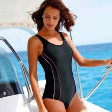 Blancheporte Jednodílné plavky, speciálně do bazénu černá/růžová