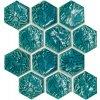 Tubadzin-Zien Barcelona - obkládačka mozaika 22x25,5 modrá