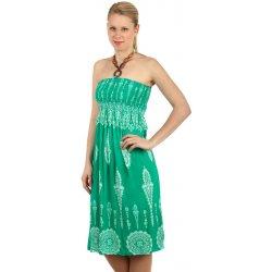 TopMode vzdušné letní šaty s ozdobou zelená od 299 Kč - Heureka.cz de948fa1e3