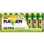 Baterie RAVER Ultra Alkaline AAA 8ks