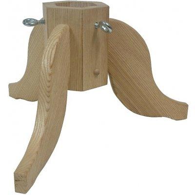 Kučerňák Dřevěný stojan na stromek 40x40x23 cm