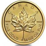 Maple Leaf Zlatá mince 1/4 Oz 2019