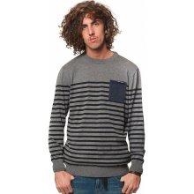 Horsefeathers spin sweater gray melange