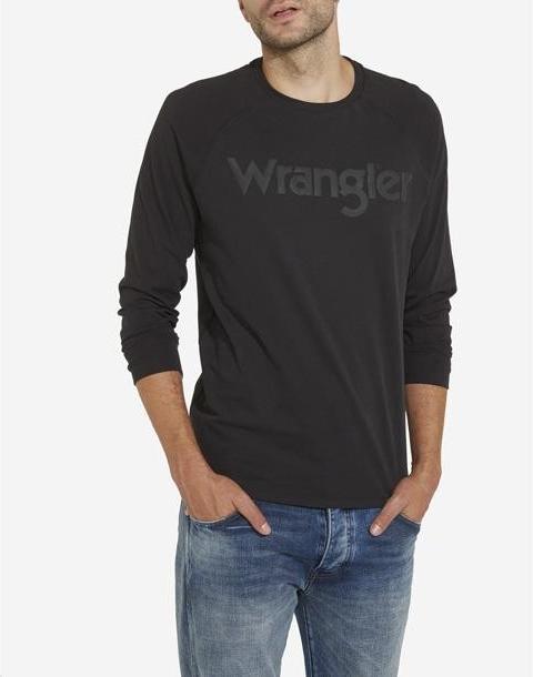 WRANGLER Raglan Faded Black W7B17FGV6 od 898 Kč - Heureka.cz d7d499a195