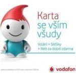 Vodafone SIM Karta se vším všudy