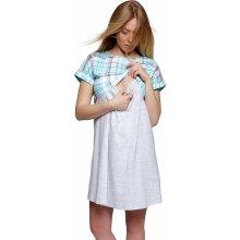 Sensis mateřská noční košile Cindy tyrkys