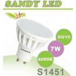 Sandria S1451 LED žárovka GU10 7W Neutrální bílá