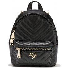 Victoria s Secret luxe quilt Mini city backpack black 39e6b4b08d