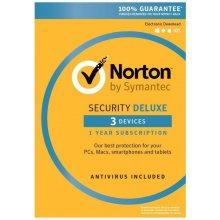 Symantec NORTON SECURITY DELUXE 3.0 3 lic. 1 rok ESD (21358351)