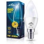 ETA EKO LEDka svíčka, 7W, E14, teplá bílá
