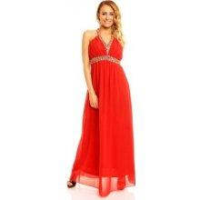 Plesové šaty Červené šaty - Heureka.cz e389350514