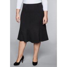 0fff30e41a19 Sheego Style sukně v střihu do A černá