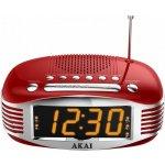 Radiopřijímače a radiobudíky Akai