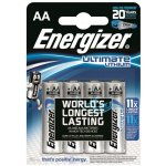 Baterie Energizer Ultimate Lithium AA 4ks
