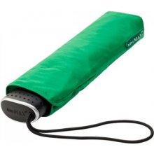 Plochý skládací deštník Malibu zelený