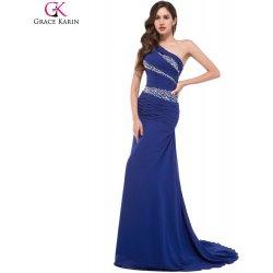 GRACE KARIN společenské šaty s vlečkou CL4971-2 modrá alternativy ... 96b633da24
